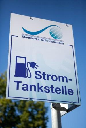 Erste Strom Tankstelle Wolfratshausen