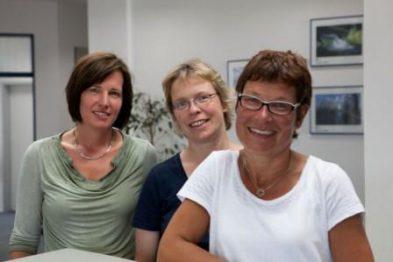 Mitarbeiterinnen der Stadtwerke Wolfratshausen